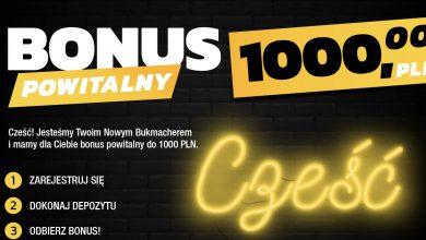 Totolotek bonus powitalny. Rejestracja z premią 1000 PLN!