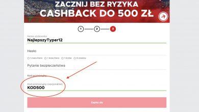 Jaki kod promocyjny podać w Betclic Polska?