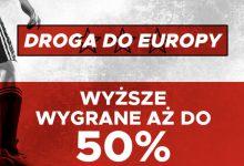 Photo of 50% wygranych więcej na mecze Polaków w el. Euro 2020 w Betclic!